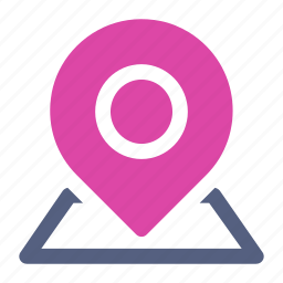 location, pin icon icon
