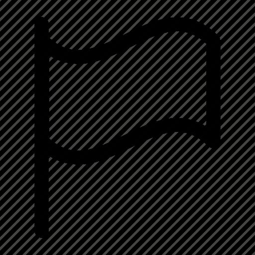 alert, flag, warning icon icon