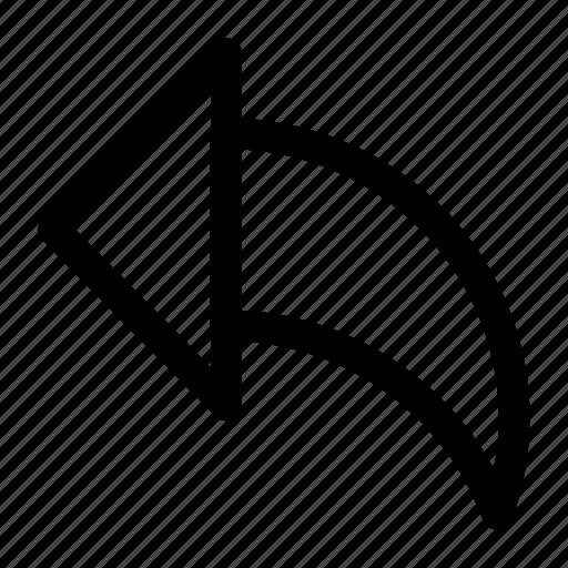 arrow, interface, left icon icon