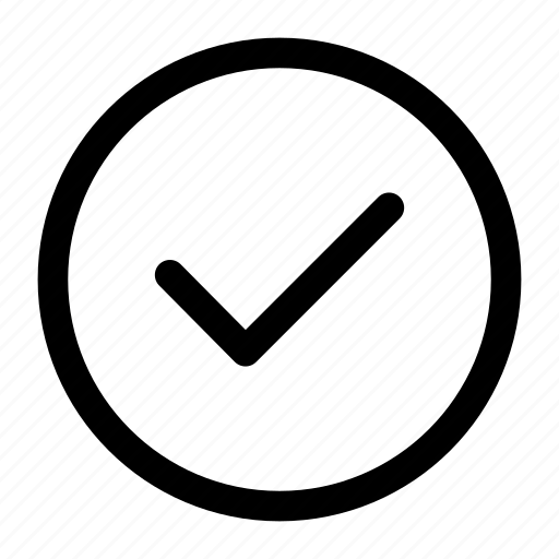 approved, check mark, check sign, tick, tick mark icon icon