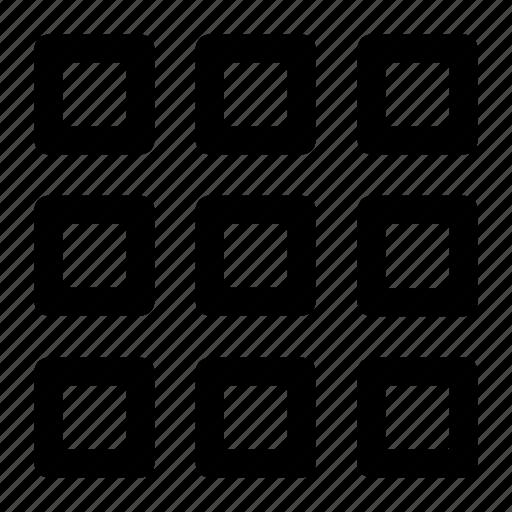 design, grid, layout icon icon