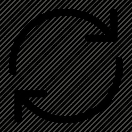 arrow, arrows, loading, refresh, update icon icon