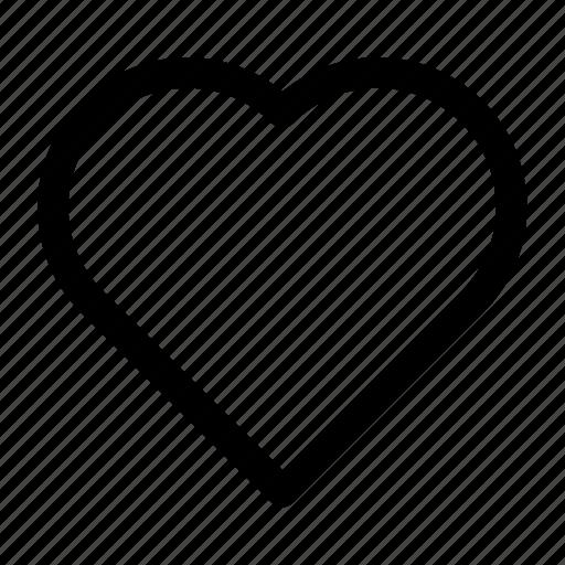 heart, love, romantic icon icon