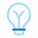 bulb, idea, light, light bulb icon icon