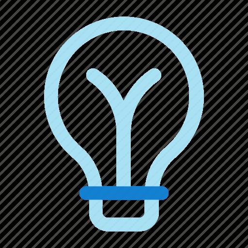 bulb, idea, light, light bulb icon icon