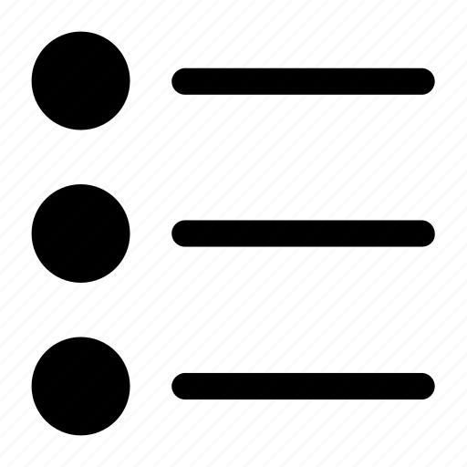 Lines, list, radio icon icon - Download on Iconfinder