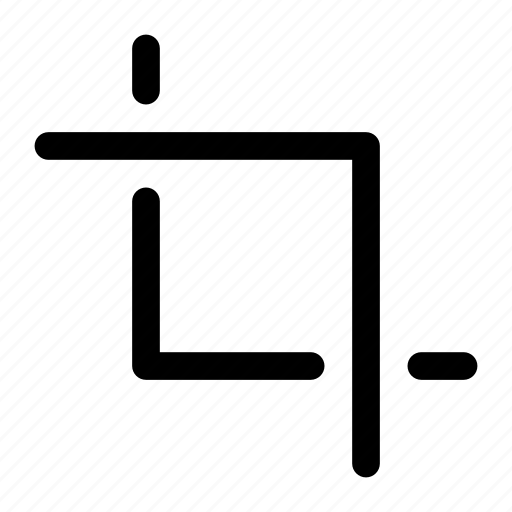 crop, design, graphic, phototshop, tool icon icon