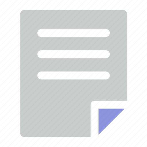Document, file, paper icon icon - Download on Iconfinder