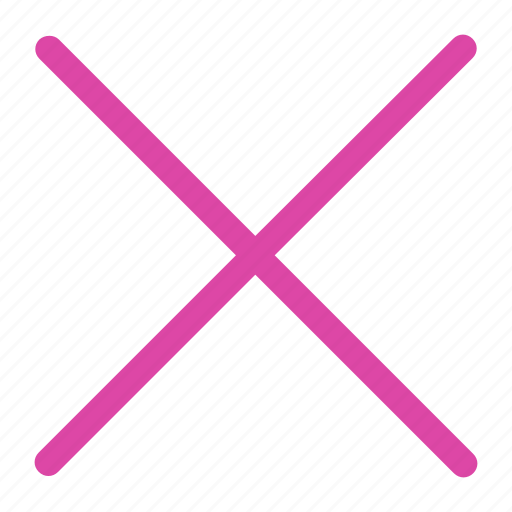 Close, cross, line icon icon - Download on Iconfinder