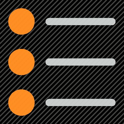 lines, list, radio icon icon