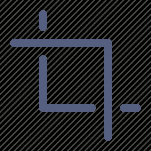 Crop, design, graphic, phototshop, tool icon icon - Download on Iconfinder