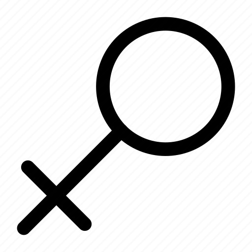 female, gender, sign, woman icon icon