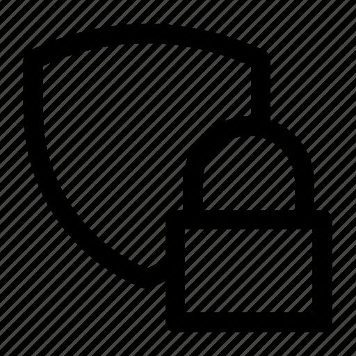 key, lock, locked, security, shield icon icon