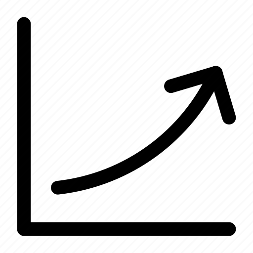 arrow, bars, chart, down, growth, statistics, up icon icon