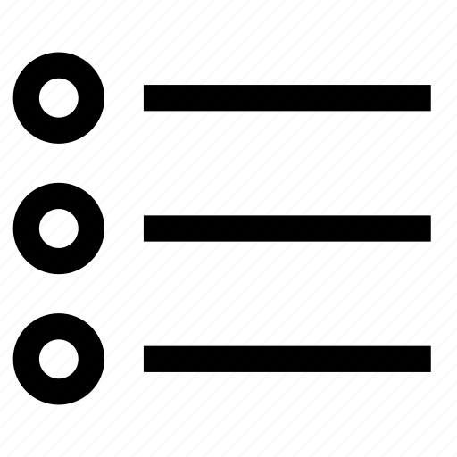 details, list, menu, option, row icon