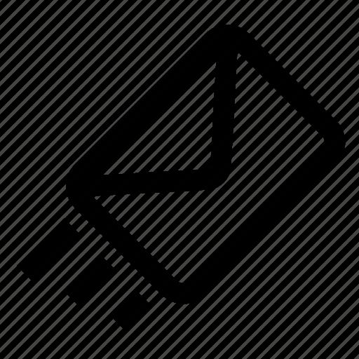 envelope, inbox, mail, message, sending icon
