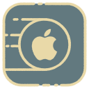 apple, iphone, logo, mac icon