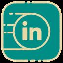 linkedin, media, social