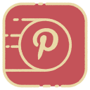 logo, media, pinterest, social icon