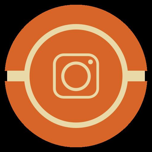 Instagram, media, social, vintage icon - Free download