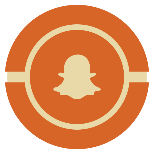 media, snapchat, social, vintage icon