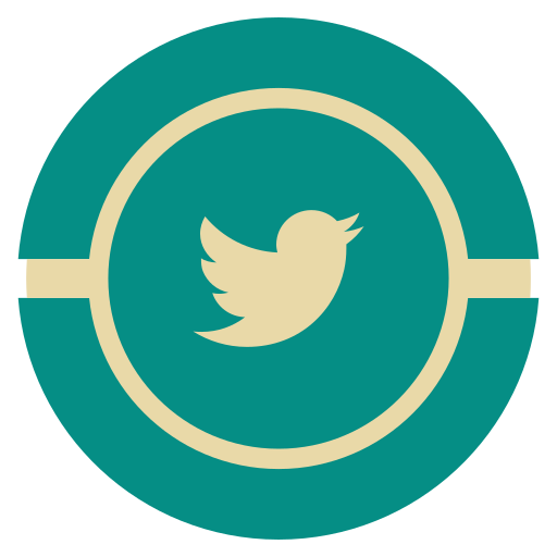 media, social, twitter, vintage icon