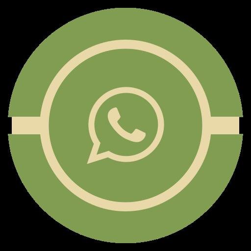 media, social, vintage, whatsapp icon