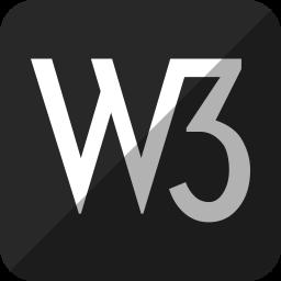 w3, w3c icon
