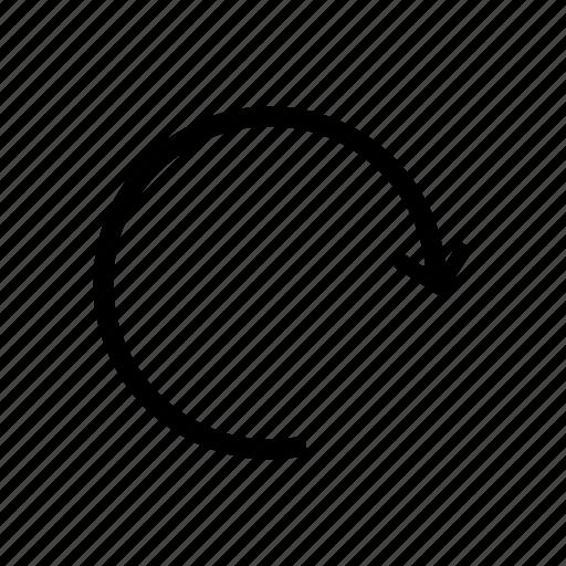 fresh, load, refresh, reload icon