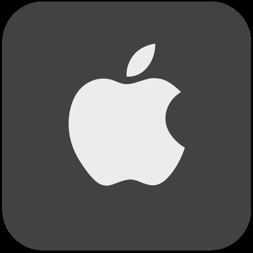apple, corp, corporation, logo, logotype icon
