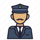 avatar, officer, police, postman, profession, sheriff, society icon