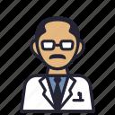 avatar, math, profession, professor, science, smart, society icon