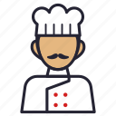avatar, chef, cook, hotel, kitchen, profession, society icon