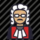 avatar, judge, juridiction, law, profession, punisher, society icon