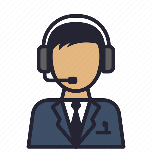 avatar, communication, customer service, operator, profession, service, society icon
