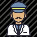 avatar, captain, leader, pilot, profession, ship, society icon