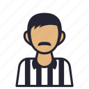 avatar, decision, football, judge, profession, refree, society icon