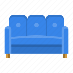 chair, comfort, couch, furniture, interior, settee, sofa icon
