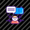 management, multitasking, professional, skills, soft icon