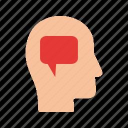 business, communication, leadership, mind, professional, skills, thinking icon