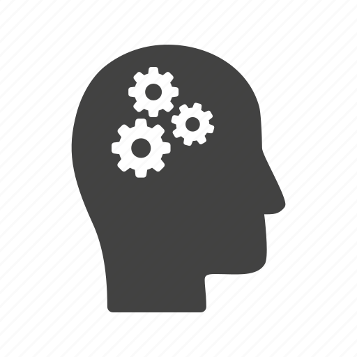 brain, head, idea, people, process, thinking, thought icon