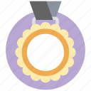 award medal, champion, medal, prize, winner icon