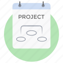 flowchart, project flow, project hierarchy, project planning, workflow icon