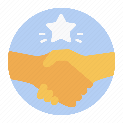 agreement, cooperation, coordination, handshake, positive relation, relationship, teamwork icon