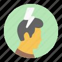 brain energy, brain power, brainstorming, mental power, mind power icon