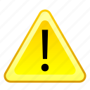 alarm, alert, attention, beware, caution, danger, warning icon