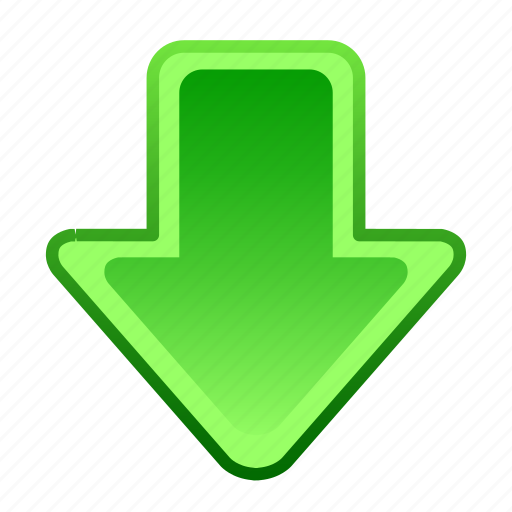 arrow, arrows, direction, down, download, location, move icon