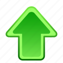 arrow, arrows, direction, location, navigation, up, upload icon
