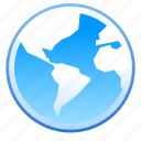 globe, internet, location, map, network, web icon