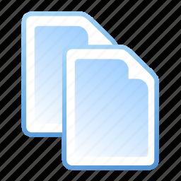 document, documents, files, paste icon